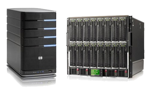 HP DS25 Server